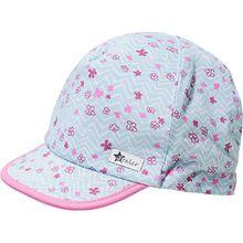 Cap mit UV-Schutz 50+  blau Mädchen Kleinkinder