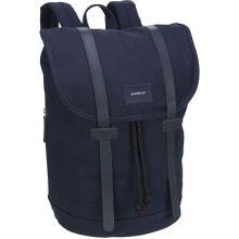 Sandqvist Rucksack / Daypack Stig Backpack Navy/Navy Leather