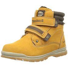 Dockers by Gerli 37WA712-630910, Unisex-Kinder Combat Boots, Gelb (Golden Tan 910), 32 EU