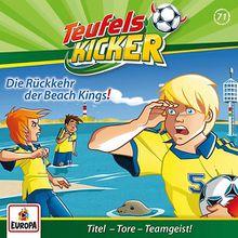 CD Teufelskicker 71 - Die Rückkehr der Beach Kings! Hörbuch