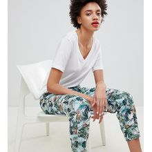 Esprit - Mit tropischem Muster bedruckte Jogginghose - Mehrfarbig