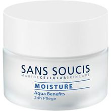 Sans Soucis Pflege Moisture Aqua Benefits 24h Pflege 50 ml
