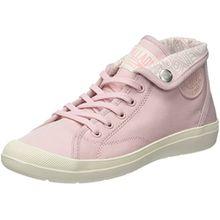 Palladium Damen Aventure Canvas Hohe Sneaker, Pink (Lotus/Marshmallow L77), 41 EU