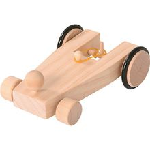 Holzbausatz Auto mit Gummiantrieb