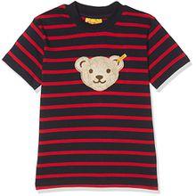 Steiff Jungen T-Shirt 1/4 Arm, Mehrfarbig (Y/D Stripe 0001), 92