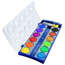Deckfarbkasten K12 DIN 5023, 12 Farben