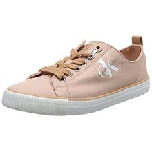 Calvin Klein Jeans Damen Dora Canvas Sneakers, Pink (Dsk), 41 EU