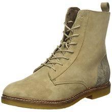 s.Oliver Damen 25216 Combat Boots, Braun (Pepper Suede 337), 41 EU