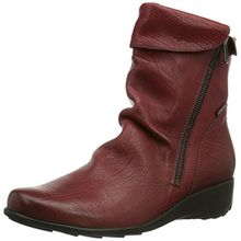 Mephisto SEDDY TEXAS 7988 OXBLOOD, Damen Kurzschaft Stiefel, Rot (OXBLOOD), 41 EU (7 Damen UK)