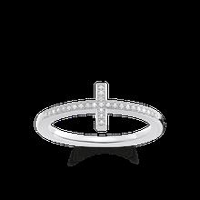 """Thomas Sabo Ring """"Kreuz"""" grau D_TR0028-725-14-48"""