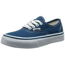 Vans K AUTHENTIC (WASHED) STARS/, Unisex-Kinder Sneaker, Blau (Navy/True White NWD), 27.5 EU