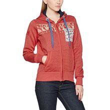 Geographical Norway Damen Sweater Gwen Lady, Rot (Red), Large (Herstellergröße: 3)