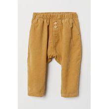 H & M - Baumwollhose - Yellow - Kinder