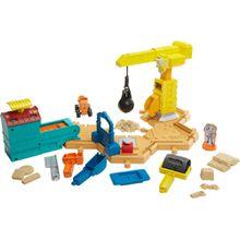 Fisher-Price Bob der Baumeister Großbaustelle Spielset (mit Spielsand)