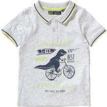 LEMON BERET Poloshirt dunkelblau / graumeliert / limette