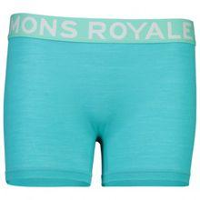 Mons Royale - Women's Hannah Hot Pant - Merinounterwäsche Gr L;M;S;XS schwarz;blau