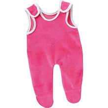Puppenkleidung Strampler pink, 38 cm
