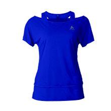 Odlo - Hologram 2in1 Damen Laufshirt (dunkelblau) - M