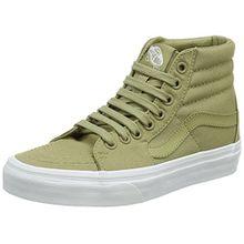 Vans Unisex-Erwachsene Sk8-Hi Hohe Sneaker, Grün (Mono Canvas), 43 EU