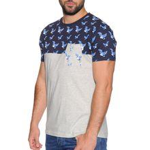 Soul Star T-Shirt in grau für Herren