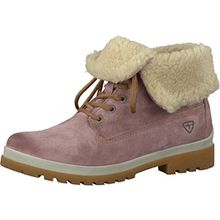 Tamaris Damenschuhe 1-1-26754-29 Damen Stiefel, Boots, Damen Stiefeletten, Herbstschuhe & Winterschuhe für Modebewusste Frau Rot (Candy), EU 36