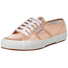 Superga 2750 Cotmetu, Damen Low-Top Sneaker, Gold (Rose Gold), 36 EU