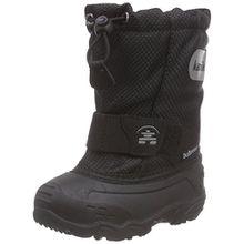 Kamik ICEPOP2, Unisex-Kinder Schneestiefel, Schwarz (BLK-Black), 26 EU