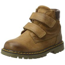 Bisgaard Unisex-Kinder Klettstiefel Combat Boots, Braun (502 Cognac), 29 EU
