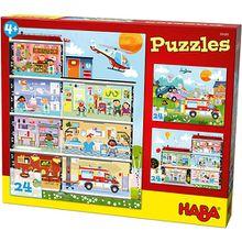 Puzzleset 3 x 24 Teile - Kleines Krankenhaus