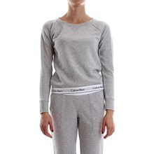 CALVIN KLEIN 000QS5718E TOP SWEATSHIRT SWEATER Damen GREY M