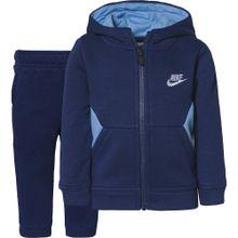 Nike Sportswear Trainingsanzug 'Core FZ' hellblau / dunkelblau