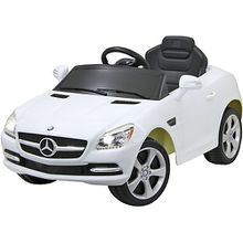 Ride-on Mercedes SLK weiß 27MHz 6V