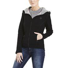 Bench Damen Jacke Jacket Binding, Schwarz (Black Beauty Bk11179), Small