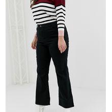 New Look Curve - Bootcut-Jeans - Schwarz
