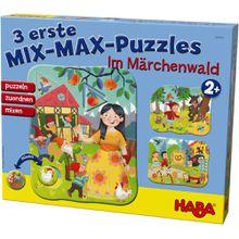 HABA 3 erste Mix-Max-Puzzles – Im Märchenwald