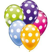 Karaloon Luftballons Punkte, 30 Stück