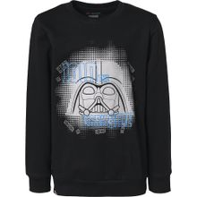 LEGO WEAR Sweatshirt 'Star Wars' blau / grau / schwarz