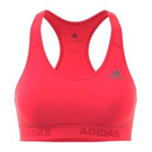 Adidas Alphaskin Sport Padded Damen Sport BH rot