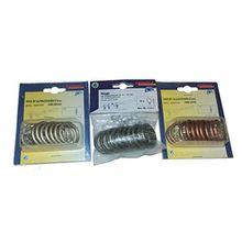 Metall Gardinenringe Ringe mit Haken (B23) Faltenlegehaken (Grün-Antik)