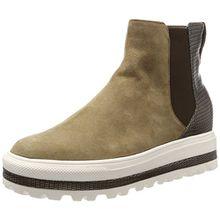 GERRY WEBER Shoes Damen Lola 04 Hohe Sneaker, Mehrfarbig (Fango-Kombi (691)), 39 EU