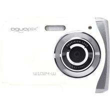 easypix Unterwasser Digitalkamera Aquapix W1024 Splash, weiß