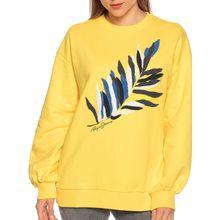 Pepe Jeans Sweatshirt in gelb für Damen