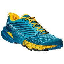 La Sportiva - Akasha Woman - Trailrunningschuhe Gr 37;37,5;38;38,5;39;39,5;40;40,5;41;41,5;42;42,5 grau;grau/türkis;türkis/blau
