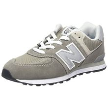 New Balance Pc574v1, Unisex-Kinder Sneaker, Grau (Grey), 34.5 EU (2 UK)