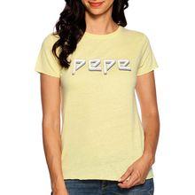 Pepe Jeans T-Shirt in gelb für Damen