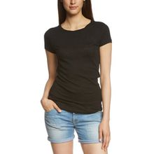 Marc O'Polo Damen T-Shirt B01226151115, Gr. 38 (Herstellergröße: M), Schwarz (black 990)