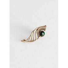 Cutout Shell Ear Cuff - Gold