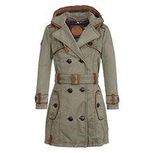 Naketano Female Jacket One for All Desert Green, XL