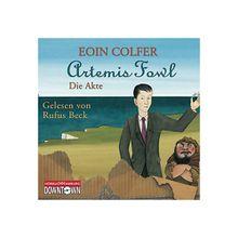 Artemis Fowl: Die Akte, 3 Audio-CDs Hörbuch