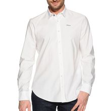 New Zealand Auckland Hemd Custom Fit in weiss für Herren